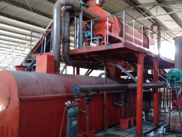carbonization machine for making charcoal