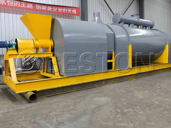 wood carbonization plant